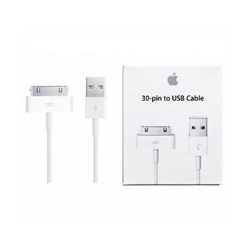 APPLE 30-Pin LIGHTNING /MA591ZM/C / USB KABEL - IPAD 2 / iPHONE 4- HVID - 1M BLISTER