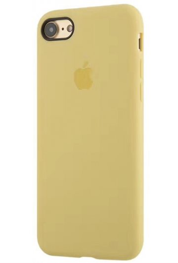 Apple iPhone 7/8 Silikone Mobil cover Guld