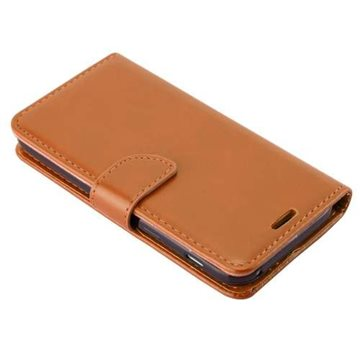 iPhone XR TG Premium Flip Cover M.Pung -Brown